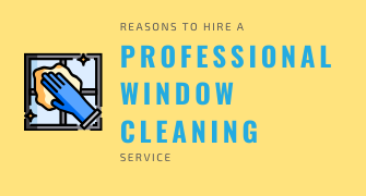 Reasons To Hire A Professional Window Cleaning Service