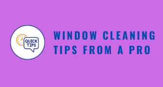 Tips From a Pro Window Cleaner